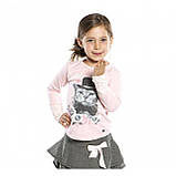 Блуза для девочки Nano F1422-01 Soft Rose. Размеры 92-142. , фото 2