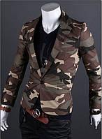 Приталенный пиджак в стиле Милитари