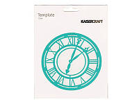 Трафарет Kaisercraft Template — Clock, 15,3 см