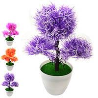 Искусственные цветы в горшке 27см R82870 (60шт)