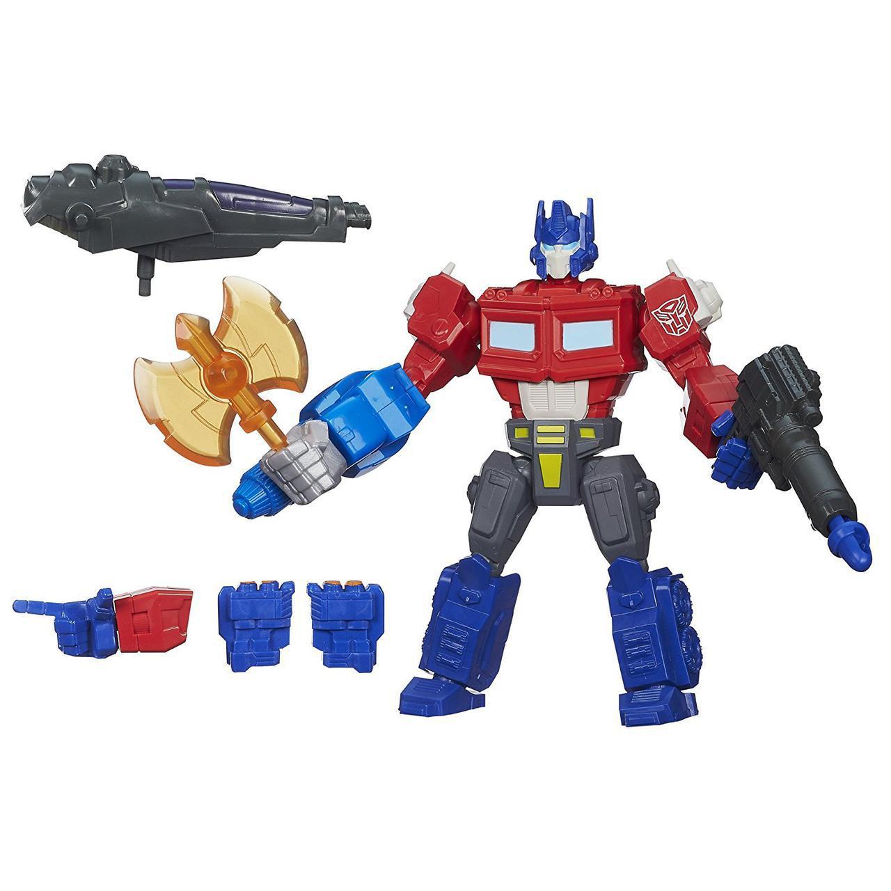 """Игрушка-конструктор Оптимус Прайм из м/с """"Охотники на чудовищ"""" - Optimus Prime, Hero Mashers, Hasbro"""