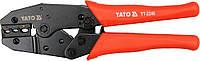 Клещи для обжима и зачистки проводов L= 220мм, YATO YT-2246