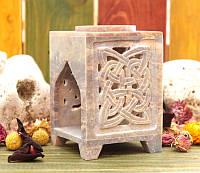 Аромалампа каменная, квадратная #3