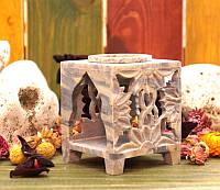 Аромалампа каменная, квадратная #4