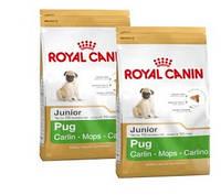 КОРМ ROYAL CANIN (РОЯЛ КАНИН) PUG JUNIOR для щенков породы Мопс в возрасте до 10 месяцев 0.5 кг