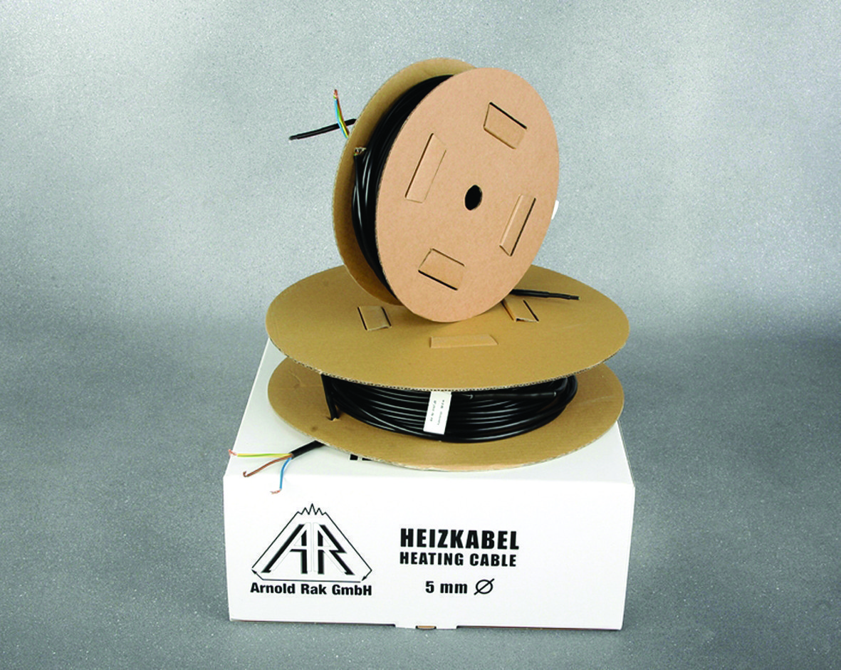 Тёплый пол в стяжку под ламинат, кафель9,0 - 13,,м.кв1800Вт. Двухжильный кабель  Standart Arnold Rak Германия.