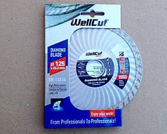 Алмазный диск 125 турбоволна WellCut Promo