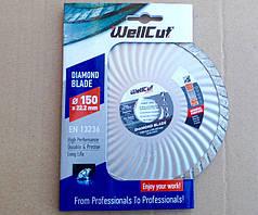 Алмазный диск 150 турбоволна WellCut Promo