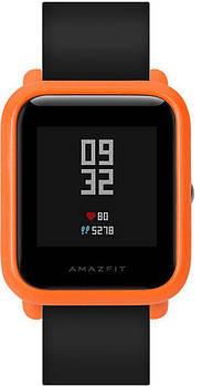 Чехол SIKAI для смарт-часов Xiaomi AMAZFIT Bip оранжевый