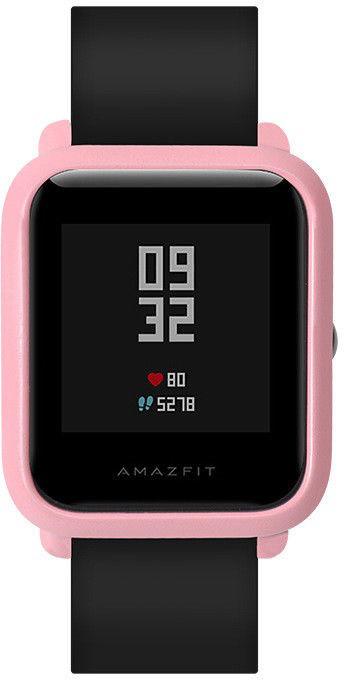 Чехол SIKAI для смарт-часов Xiaomi AMAZFIT Bip розовый