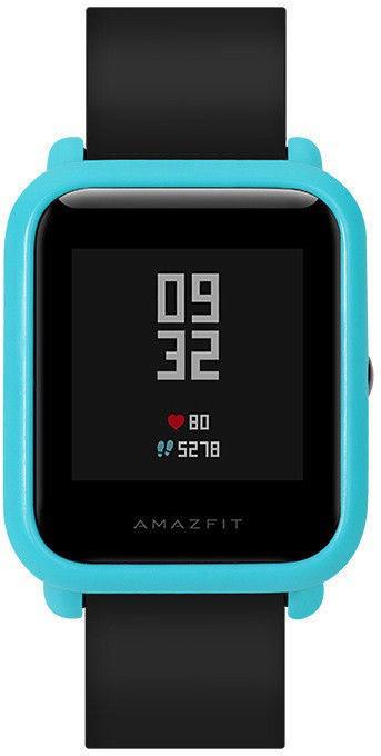 Чехол SIKAI для смарт-часов Xiaomi AMAZFIT Bip голубой