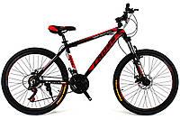 Горный велосипед  Cross Hunter 26 Black-Red-White