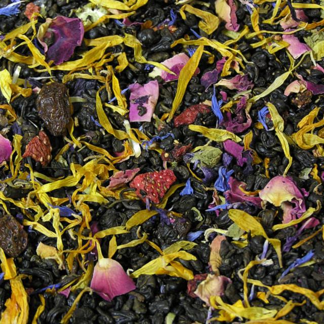 Зелений ароматизований чай «Весняна квітка»