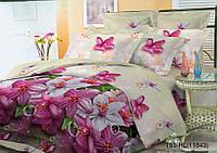 Двуспальное постельное белье полиСАТИН 3D (поликоттон) 85118433