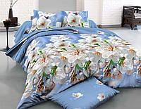 Двуспальное постельное белье полиСАТИН 3D (поликоттон) 851432
