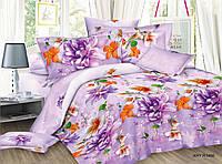 Двуспальное постельное белье полиСАТИН 3D (поликоттон) 8514661