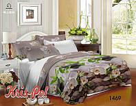 Двуспальное постельное белье полиСАТИН 3D (поликоттон) 851469