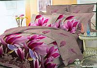 Двуспальное постельное белье полиСАТИН 3D (поликоттон) 852261
