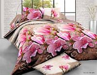 Семейное постельное белье полиСАТИН 3D (поликоттон) 85491