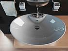 Умывальник (Раковина в ванную Kerabad КВW005) 65*44 Овальная форма, фото 2