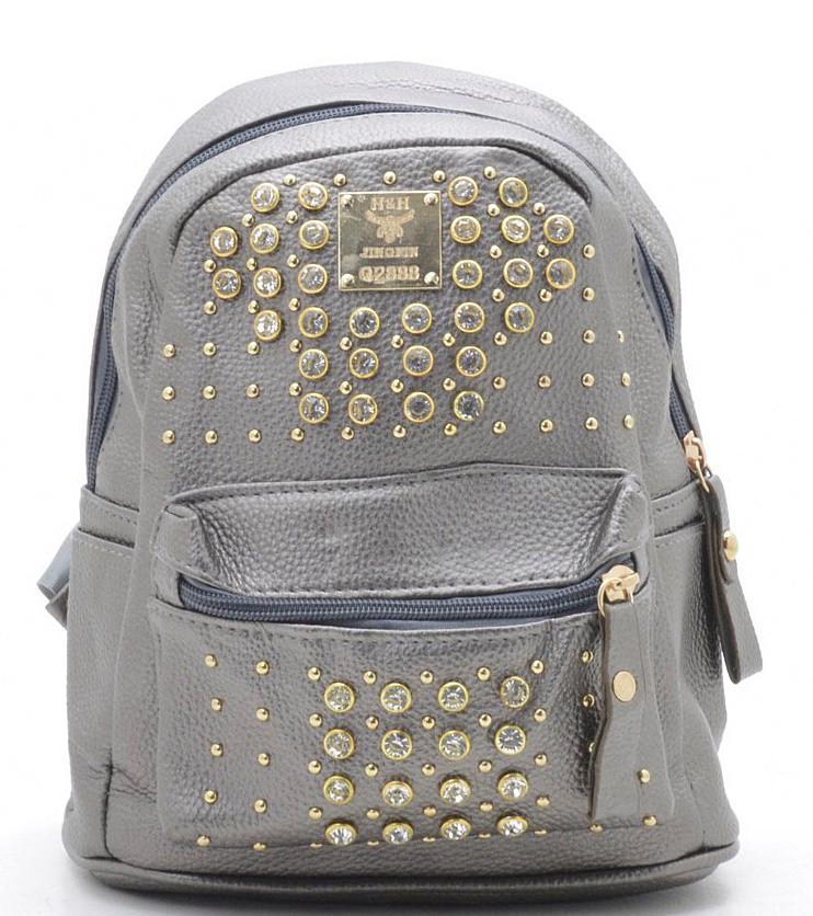 9ab16551fc34 Женский городской рюкзак 019 т.бронза женские рюкзаки купить дешево -  Интернет магазин