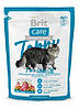 Корм Брит Кеа Brit Care Cat беззерновой для котов больших размеров 400 г