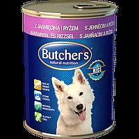 Корм Бутчерс Дог Butcher's Dog Natural Lamb Rice консерва для собак с ягненком и рисом 1200 г