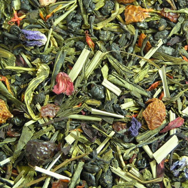 Зелений ароматизований чай «Текіла-Бум»