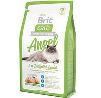 Корм Бріт Кеа Енджел Brit Care Angel для літніх котів старше 7 років 400 г