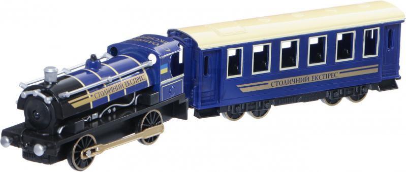 Модель Технопарк Паровоз з вагоном (CT10-038)