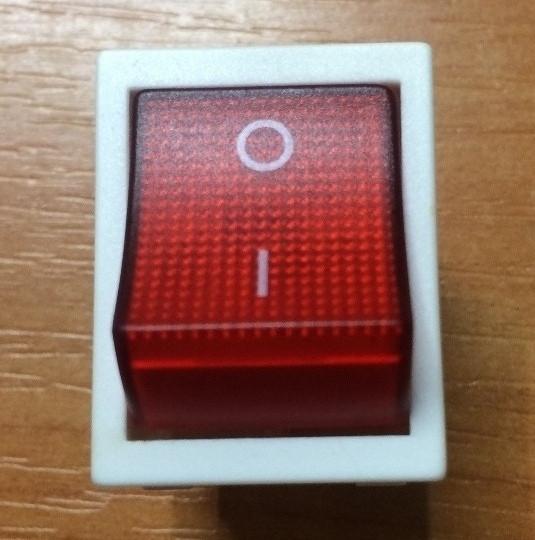 Выключатель для электроприборов с индикатором Код.55218