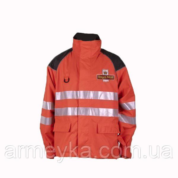 Водонепроницаемая светоотражающая куртка Royal Mail (укороченная). Великобритания, оригинал.