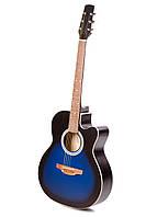 Акустическая гитара TREMBITA EAGLE E-3 BLUE BURST