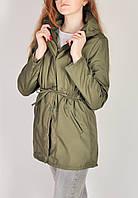 Куртка женская демисезонная ветровка хаки