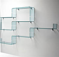 Скляні меблі з гартованого скла.гартовані безпечні полички, фото 1
