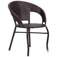 Кресло из ротанга Catalina ротанг коричневый, TM AMF