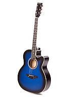 Акустическая гитара TREMBITA LEOTONE L-01 BLUE BURST