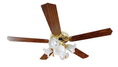 Вентилятор с 5 лампами, фото 2