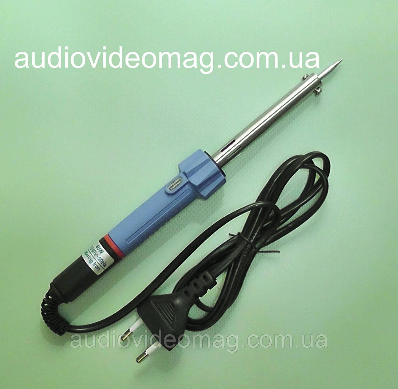 Паяльник 220B 40 Ватт с нихромовым нагревателем и индикатором работы