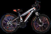 Детский велосипед  Cross Hunter 24 Gray-Orange