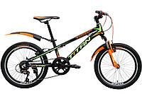 "Детский велосипед  Titan Tiger 20"" Black-Orange-Green"