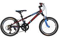"""Детский велосипед  Titan Tiger 20"""" Black-Red-Blue"""