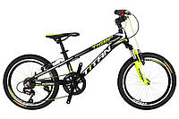 "Детский велосипед  Titan Tiger 20"" Black-Green-White"
