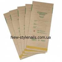 Крафт пакеты для паровой и воздушной стерилизации, 100*200 мм, фото 1