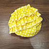 Трусики для девочки (размер от 3 мес до 1.5 года) — Желтые в крапинку