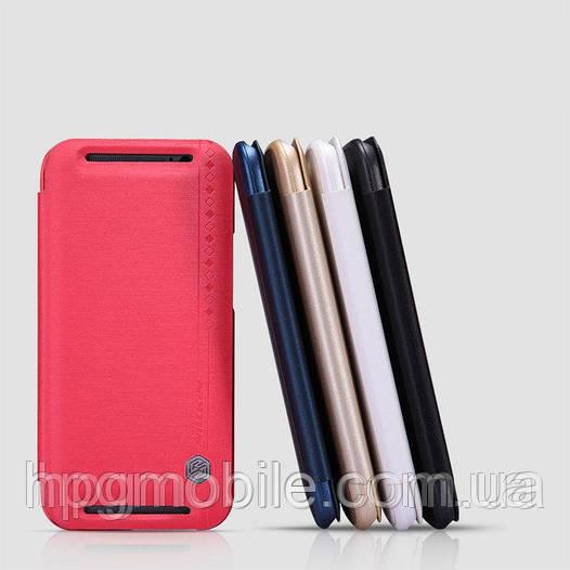 Чехол для HTC New One M8 - Nillkin Rain Leather Case