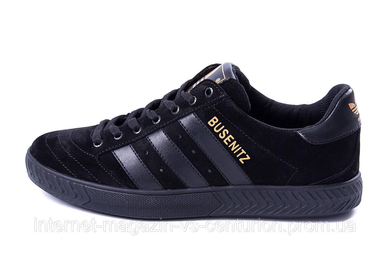 Мужские Кожаные Кеды Adidas Busenitz Black 41 — в Категории
