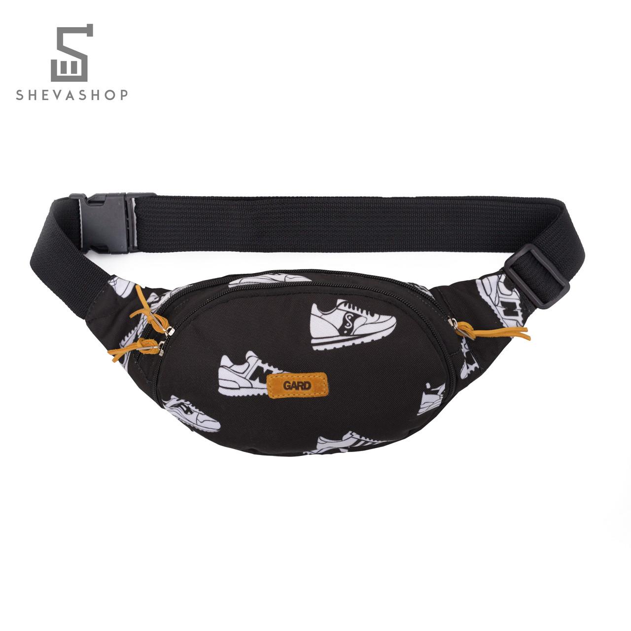3b83083f4d21 Поясная сумка GARD WAIST BAG | sneaker 2/18 черная - купить по ...