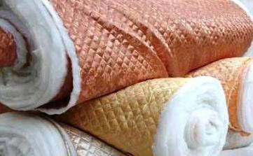 Плащёвка подкладка и атлас стёганая на синтепоне