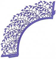 Декоративные формы для маффинов, ажурные накладки для кексов (20шт)
